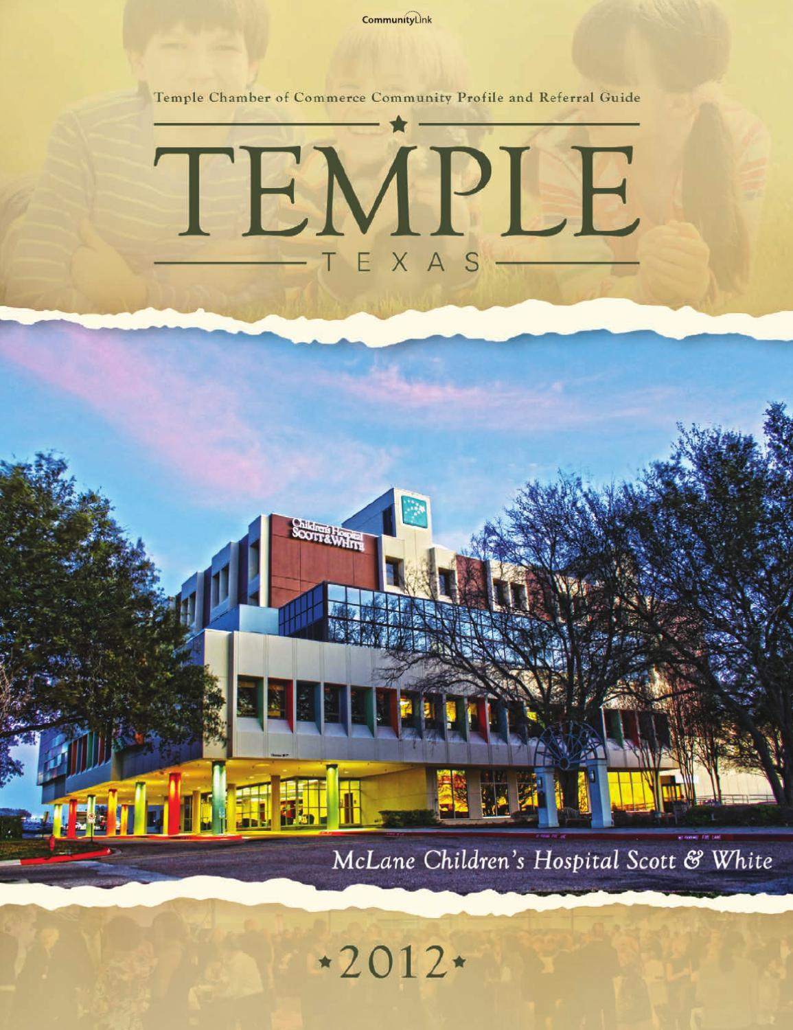 Temple, TX 2012 Community Profile and Referral Guide by
