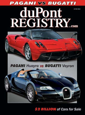 DuPontREGISTRY Autos June 2012 By DuPont REGISTRY   Issuu