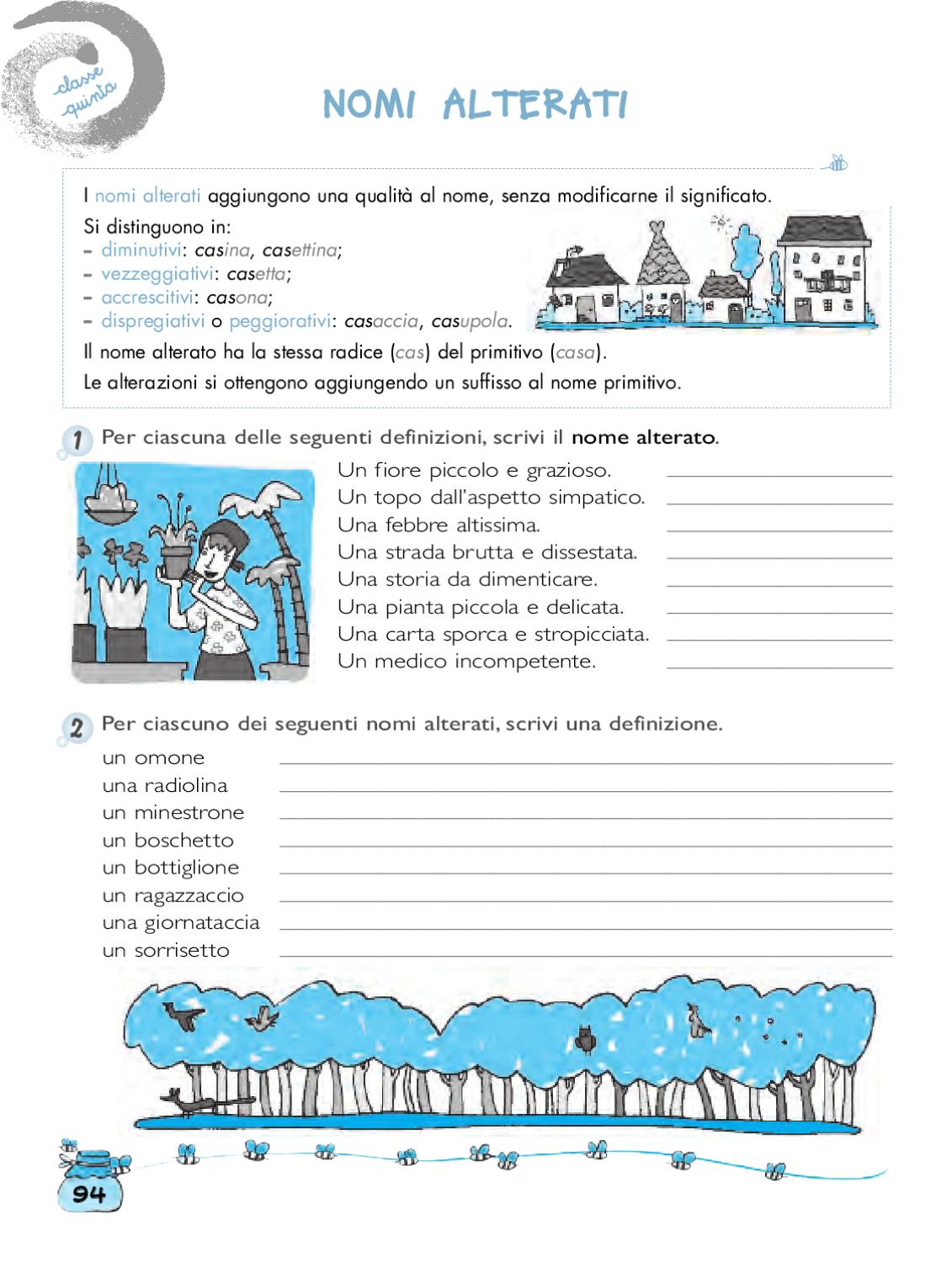 magicamente lab grammatica 4-5 by elvira ussia - issuu - Giardino Piccolo Nome Alterato