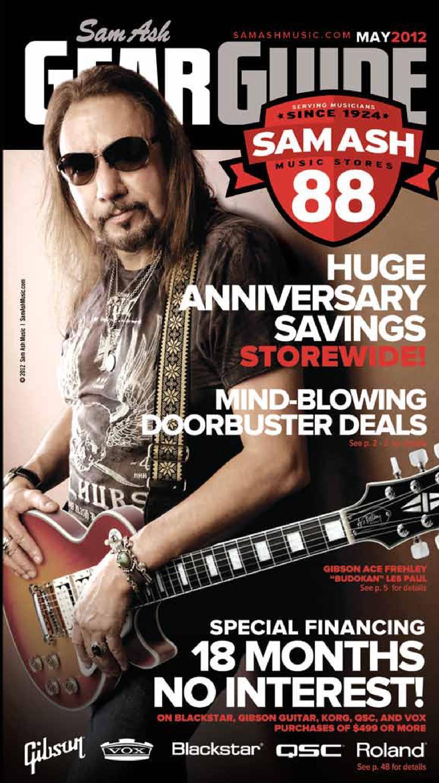 May 2012 Sam Ash Gear Guide By Music Corp Issuu Kirk Hammett Emg Pickup Wiring Diagram