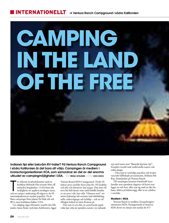 full hookup Camping södra Kalifornien