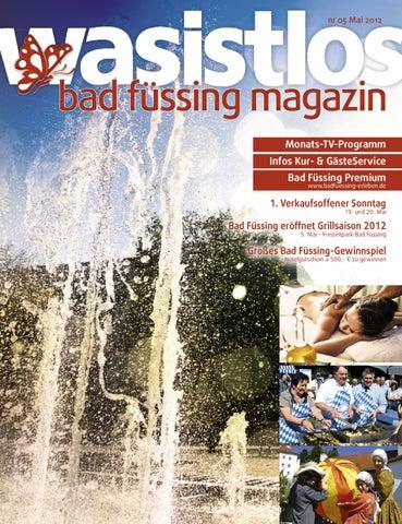 wasistlos bad füssing magazin 05/12 by REMARK - marketing - mixmedia ...