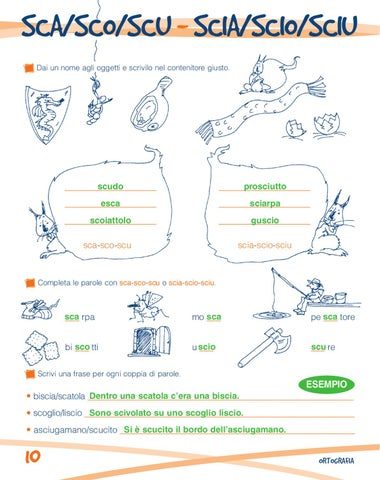 So tutto 3 by elvira ussia issuu for Filastrocca sci sce