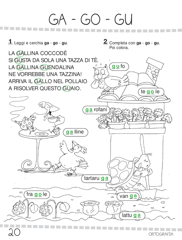 Ok ita 1 by elvira ussia issuu for Suoni difficili schede didattiche