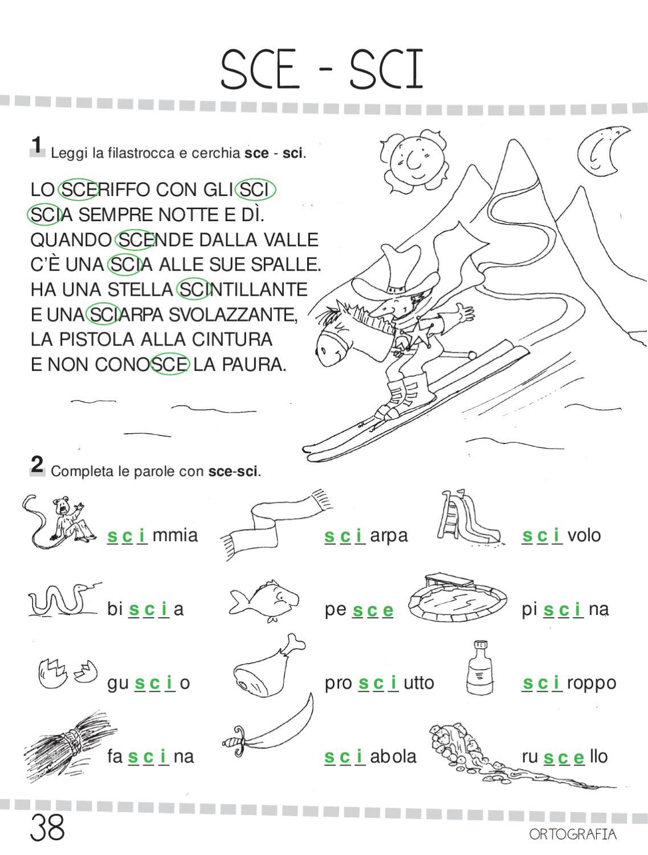 Ok ita 1 by elvira ussia issuu for Parole con sci e sce per bambini