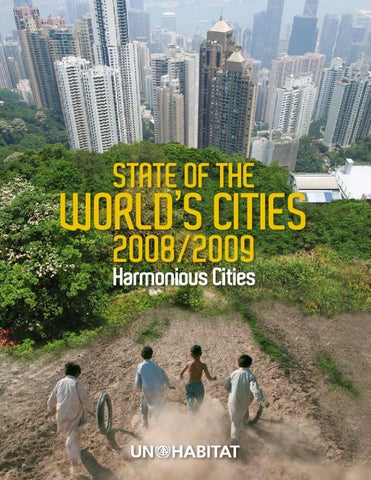 27786a02d46 State of the World s Cities 2008 2009 - Harmonious Cities by UN ...