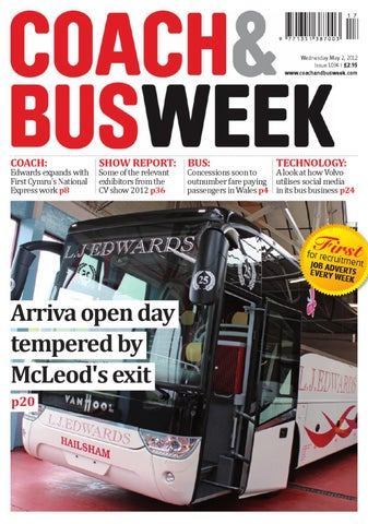 f83f4b83f58 Coach & Bus Week : Issue 1161 by Coach and Bus Week & Group Travel ...