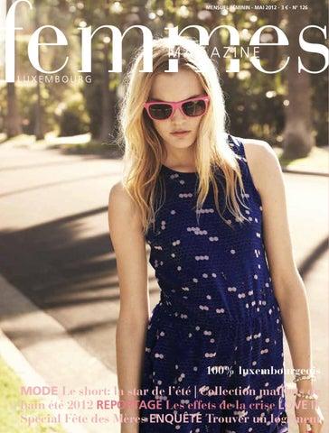 Femmes Magazine 126- mai-2012 by alinea communication - issuu 85b5e1abe22