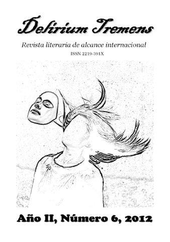 Revista Literaria Delirium Tremens 6 By Paolo Astorga Issuu