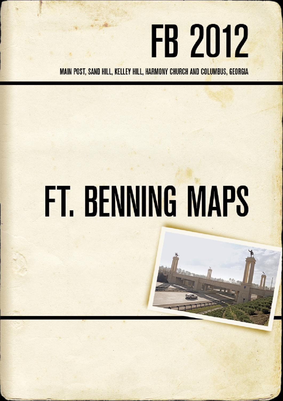 maps of fort benning  ga - flipbook brochure by columbus ga cvb