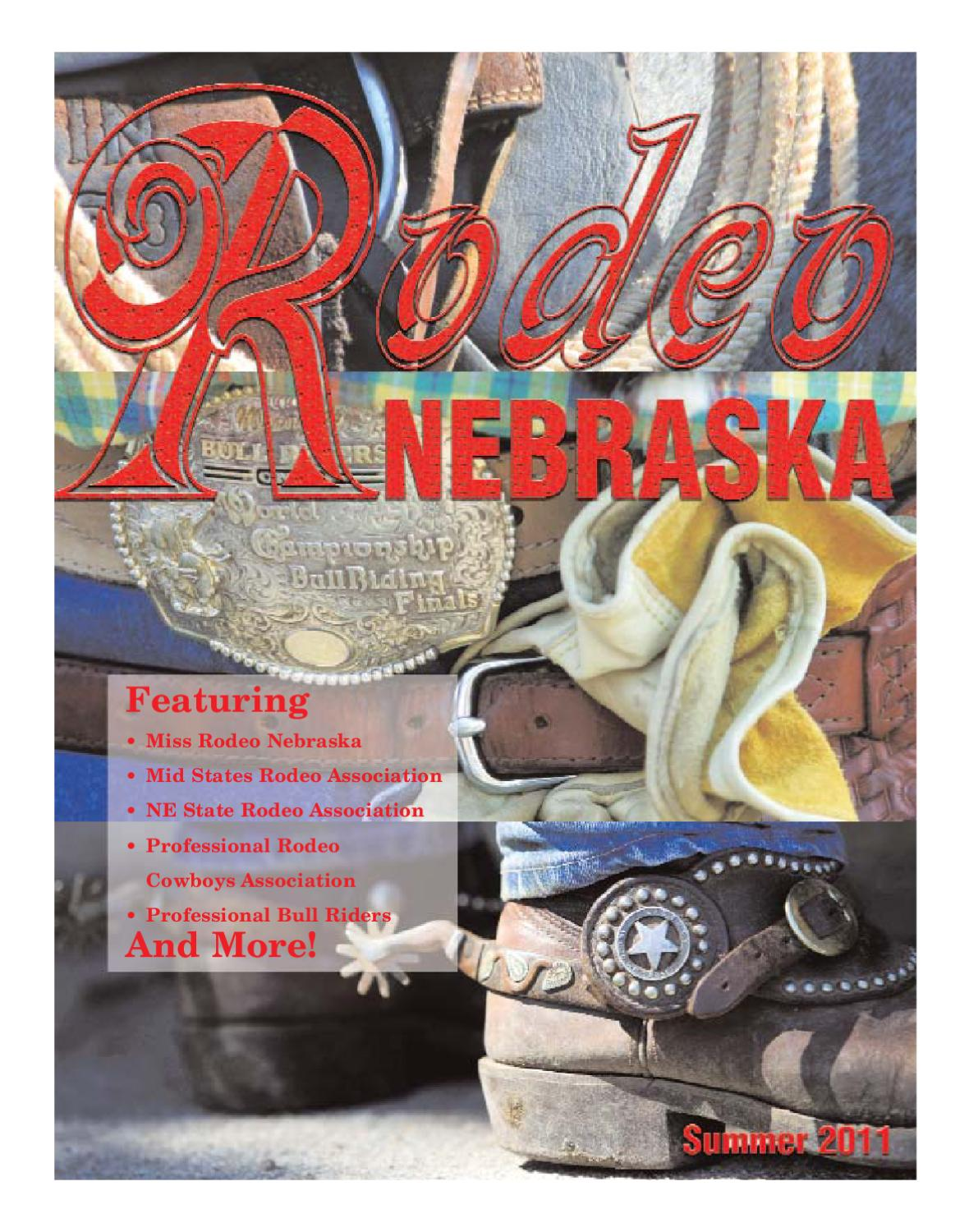 Rodeo Nebraska May 2011 by agNET Content Services - issuu