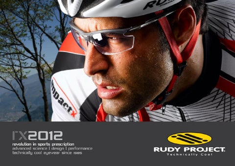 d161ba5abd Rudy Project 2012 RX Catalogue by ASG Sport - issuu