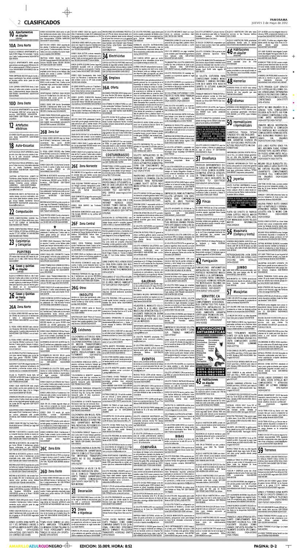 Clasificados 3 de mayo de 2012 by Diario Panorama - issuu