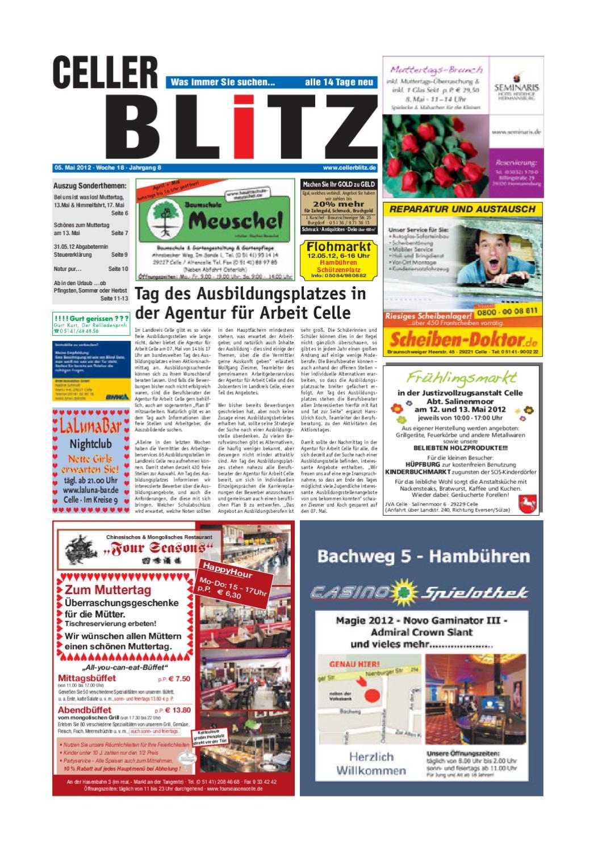 Celler Blitz 18 KW by Media Verlag Celle GmbH & Co. KG - issuu
