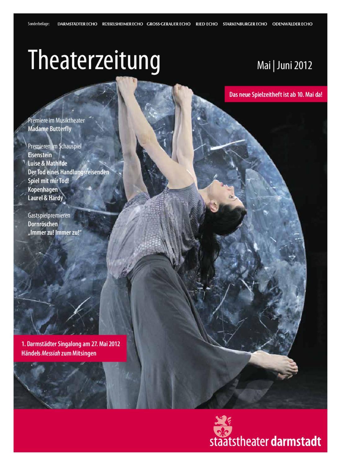 Theaterzeitung Mai | Juni 2012 by Staatstheater Darmstadt - issuu