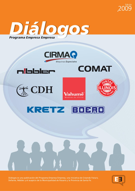 Revista Di Logos 2009 By Programa Empresa Empresa Creando Futuro  # Vahume Muebles De Oficina Humboldt