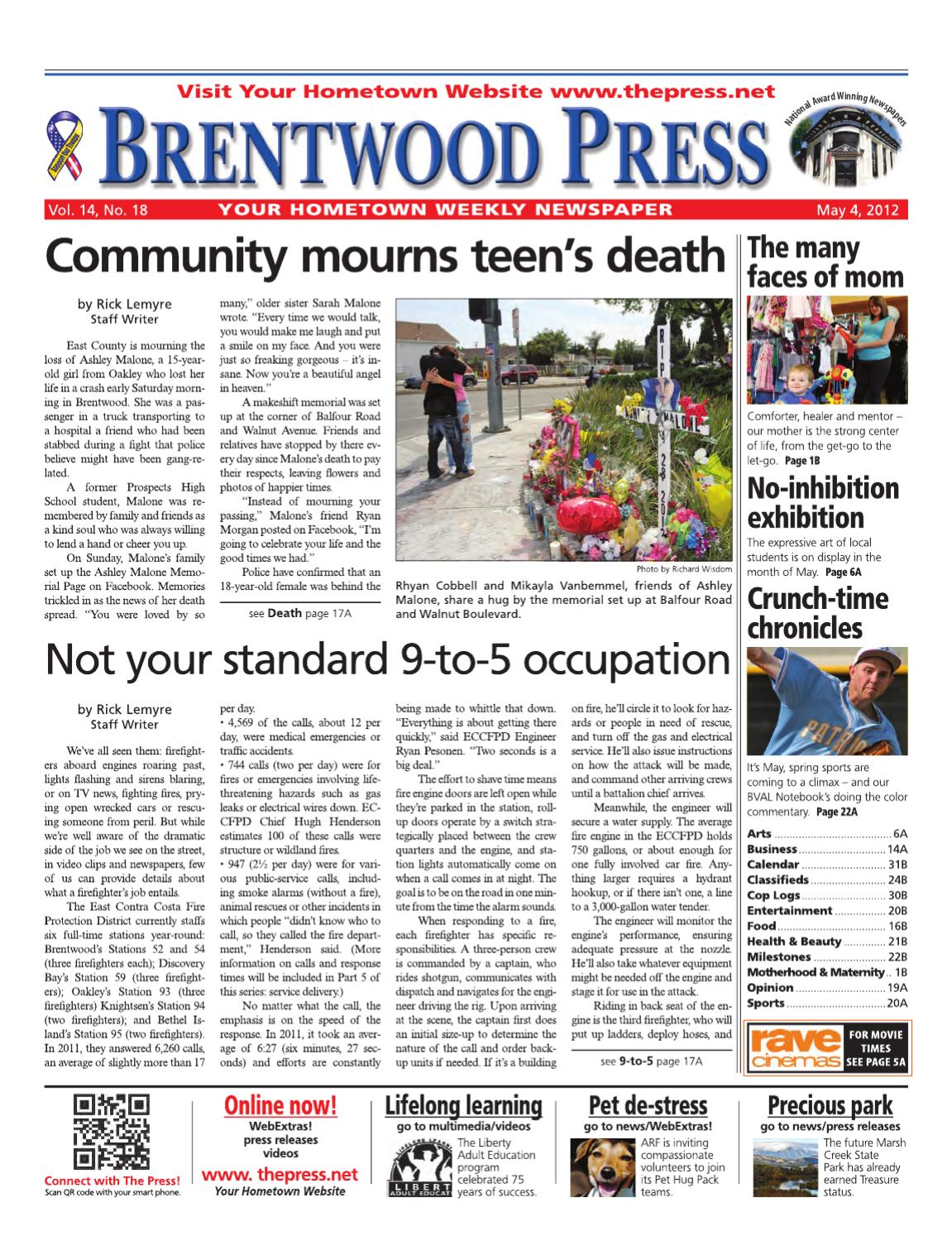 e2fba212cbb9bd Brentwood Press 05.04.12 by Brentwood Press   Publishing - issuu