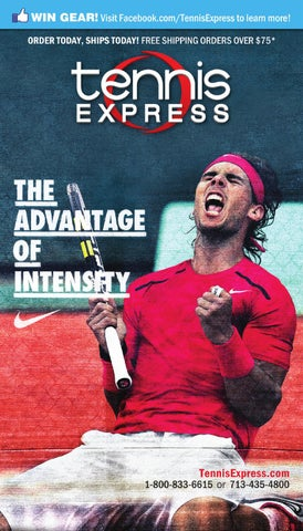 2012 Tennis Express Catalog French Open Edition By Tennis Express