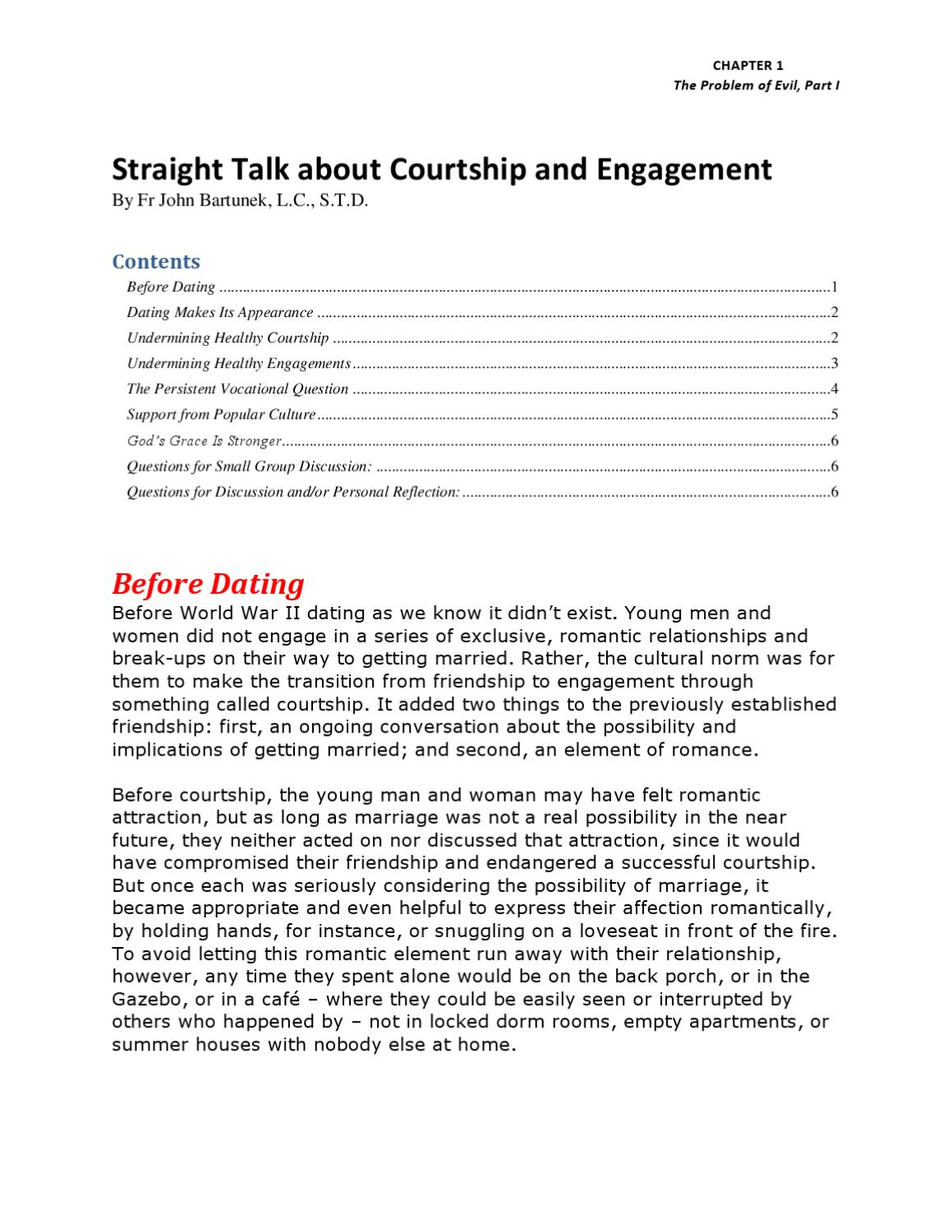 dating small group questions