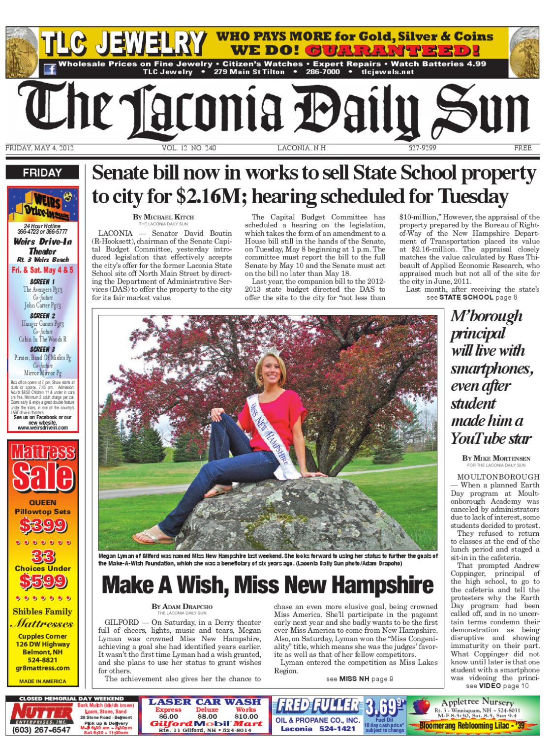 The Laconia Daily Sun May 4 2012 By Issuu Wiring Money Overseas Chase