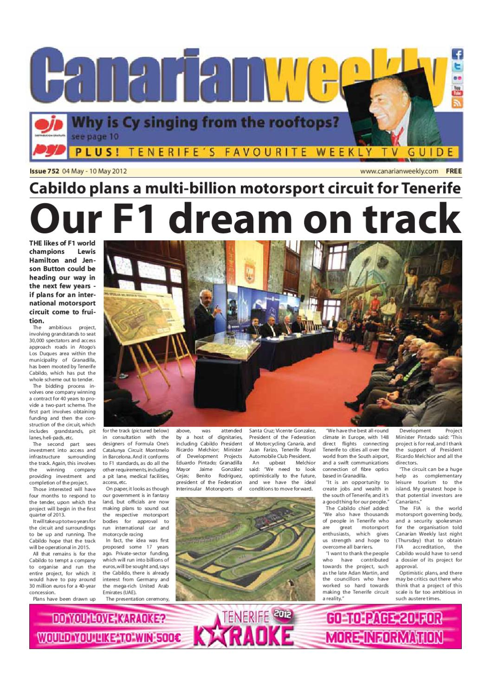 e04486b8bc8 Canarian Weekly Ed 752 by Canarian Weekly - issuu