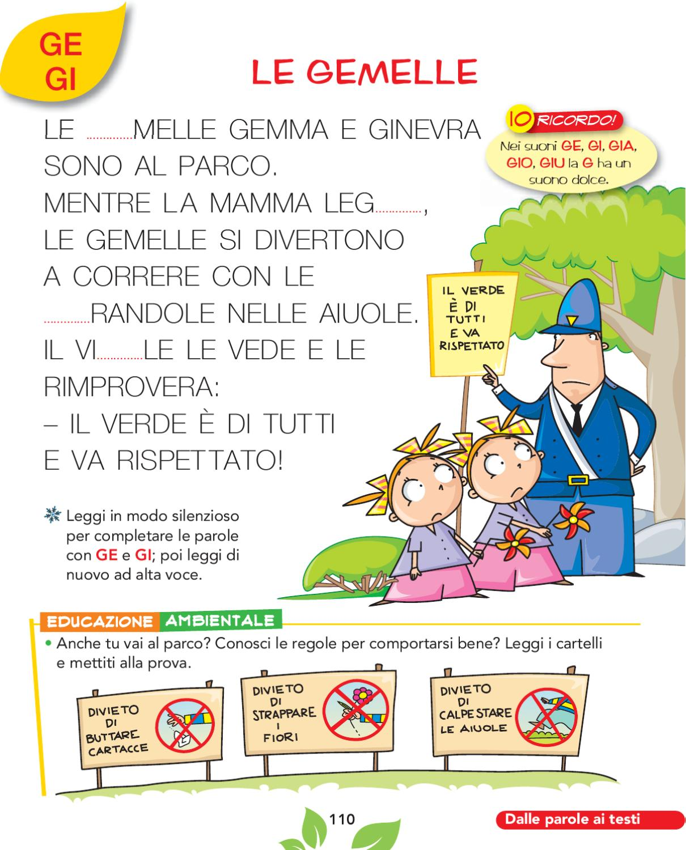 Olmo 1a metodo by elvira ussia issuu for Parole con gio giu
