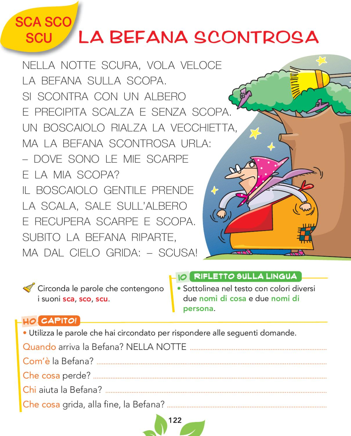 Olmo 1a metodo by elvira ussia issuu for Dettato con sca sco scu