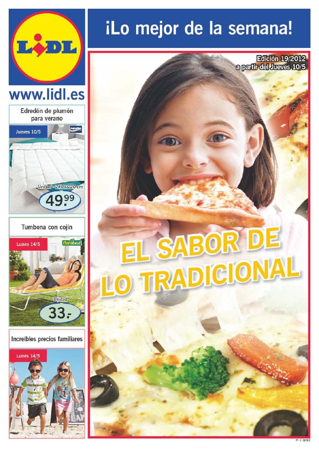Cat logo de ofertas en productos de supermercados lidl for Catalogo lidl granada