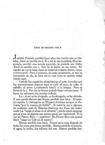 A fuego lento: Amol se escribe con R by Salvador Tio - Issuu