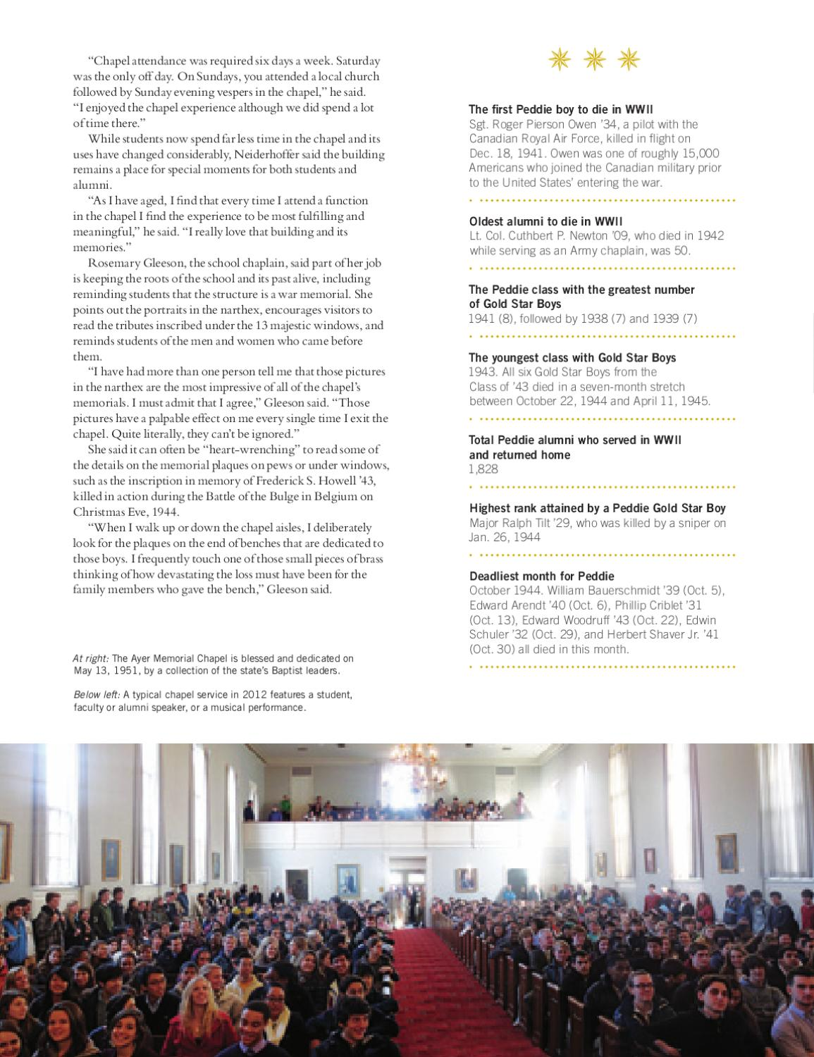 Chronicle Spring 2012