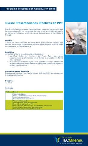 presentaciones efectivas en ppt by tec milenio campus en línea issuu