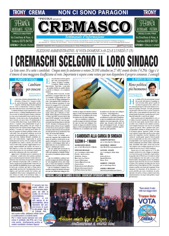 Il Piccolo Giornale del Cremasco by promedia promedia - issuu 537e753ad56d