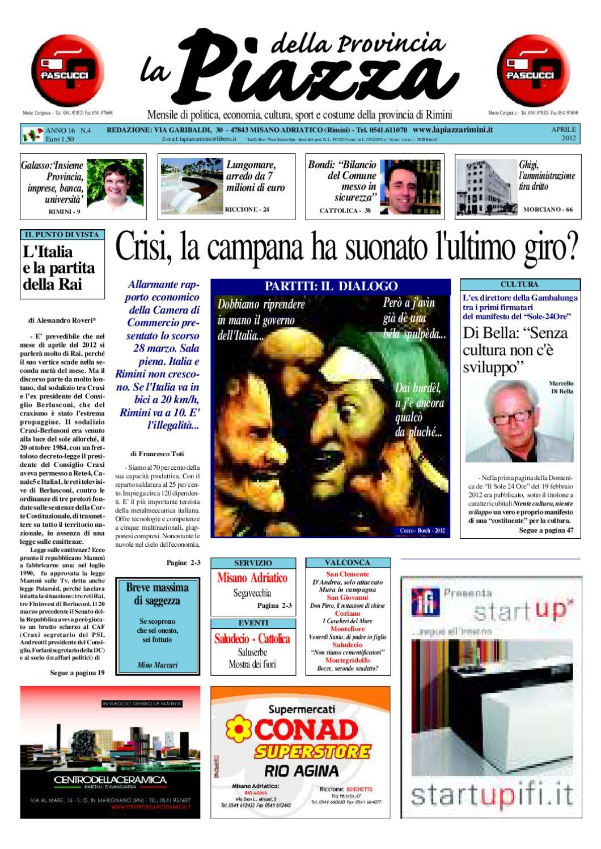 La Piazza della Provincia di Rimini - Ed. Aprile 2012 by La Piazza della  Provincia - issuu 370267e3226