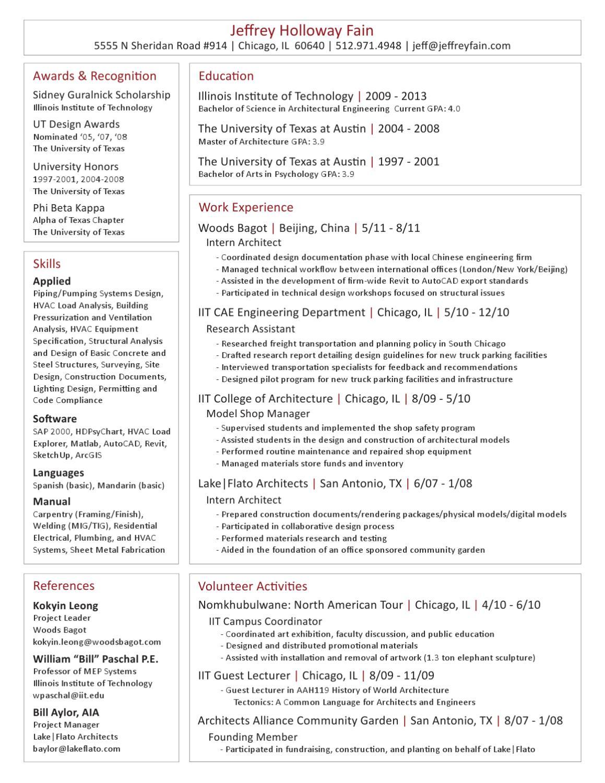 Jeffrey Fain Resume by Fain Design Services - issuu