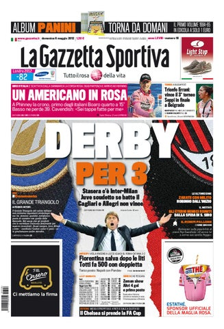 la gazetta dello sport by sinu.87 sinu.87 - issuu 4f3185f37eb