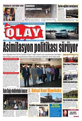 07 05 2012 Gazete Sayfalari By Diyarbakir Olaygazetesi Issuu