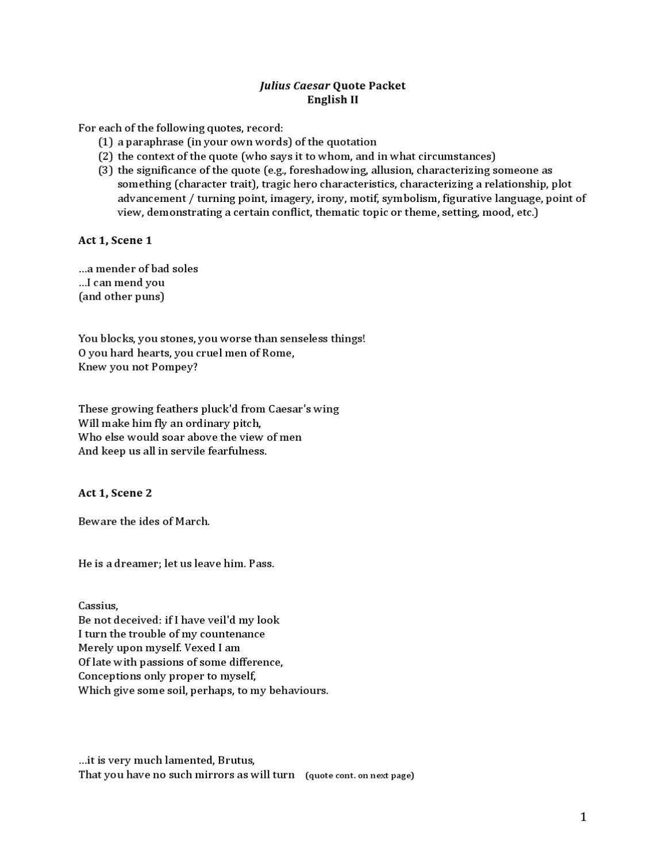 Juliuscaesarquotepacketregul By Hc Communications Issuu