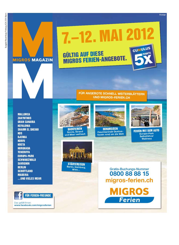 Migros Magazin 19 2012 d NE by Migros Genossenschafts Bund
