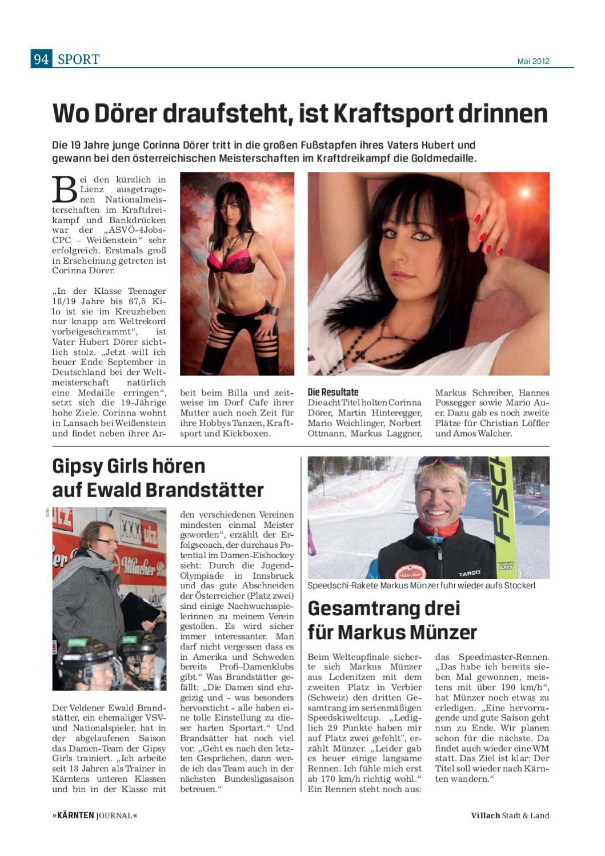 Kärnten Journal Villach Ausgabe Mai By Webdesign As1 Issuu