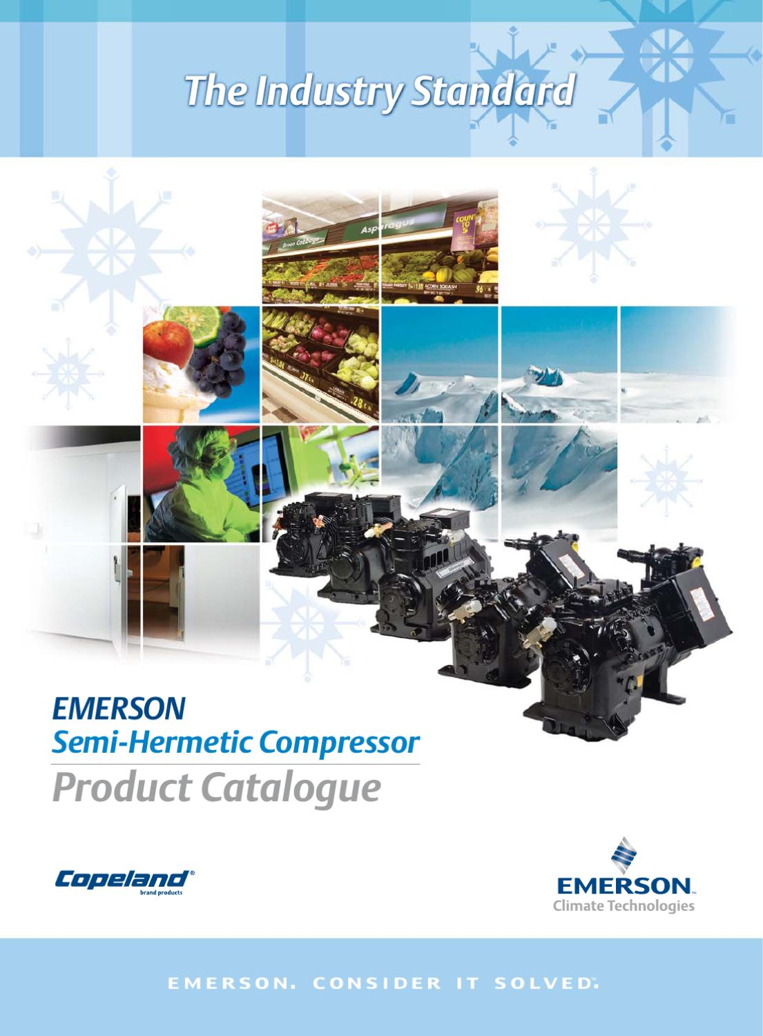 4 Copeland Semi-hermetic Compressor - Product Catalogue - Feb  2010 By Andrew Tan Lee
