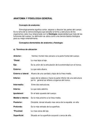 ANATOMIA Y FISIOLOGIA by formacion axarquia - issuu