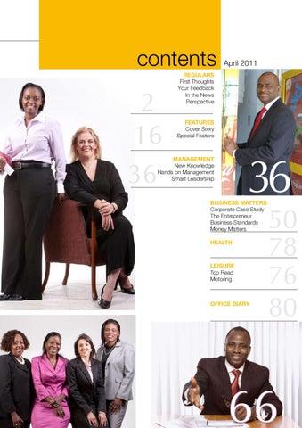 Management Magazine April 2012 by Inoorero University - issuu