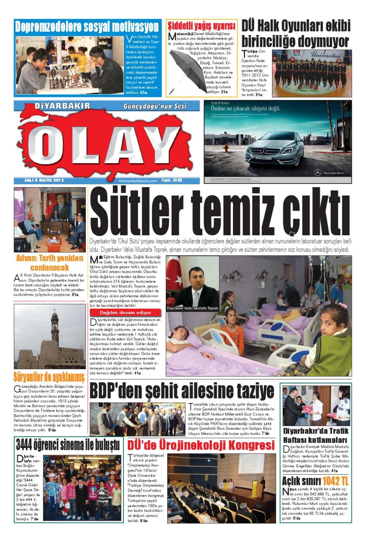 08 05 2012 Gazete Sayfalari By Diyarbakir Olaygazetesi Issuu