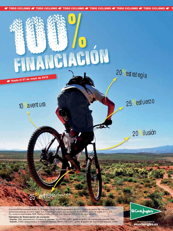 100% autenticado rendimiento confiable elige lo último Catalogo de Bicicletas El Corte Inglés Primavera 2012 by ...