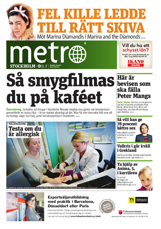 huge discount 10126 097d3 20120508 se stockholm by Metro Sweden - issuu