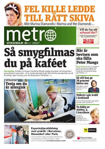 huge discount 25fc3 af099 20120508 se stockholm by Metro Sweden - issuu