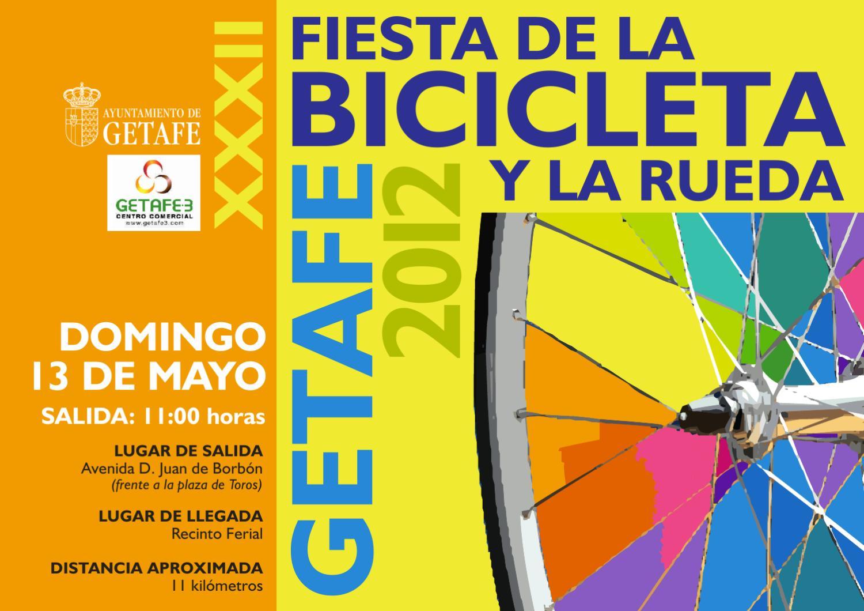 Getafe Fin De Fiesta: XXXII Fiesta De La Bicicleta Y La Rueda Getafe 2012 By
