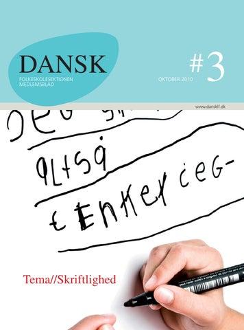 DANSK 3 2010 by Dansklærerforeningens Hus - issuu
