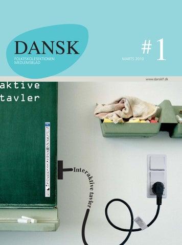 DANSK 1 2010 by Dansklærerforeningens Hus - issuu