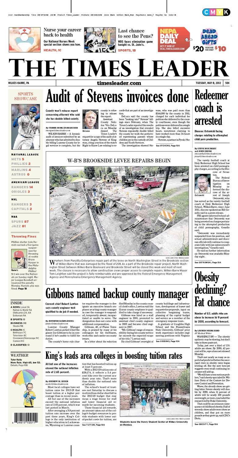 Times Leader 05-08-2012 by The Wilkes-Barre Publishing Company - issuu 6f5cf8423f9